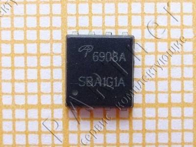 AON6908A сдвоенный ассиметричный N-канальный транзистор