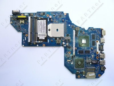 Материнская плата LA-8712P rev:1.0 ноутбука HP M6-1211er