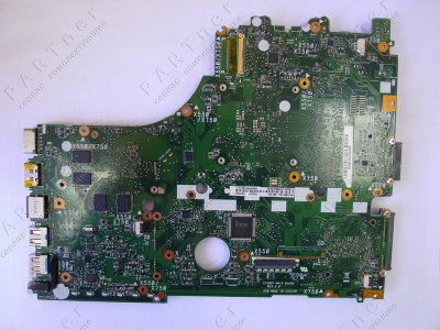 Материнская плата X750DP rev:2.0 для ноутбука Asus X550DP